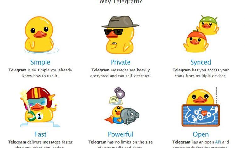 why telegram