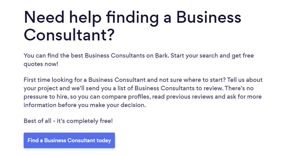 Business consulting near you