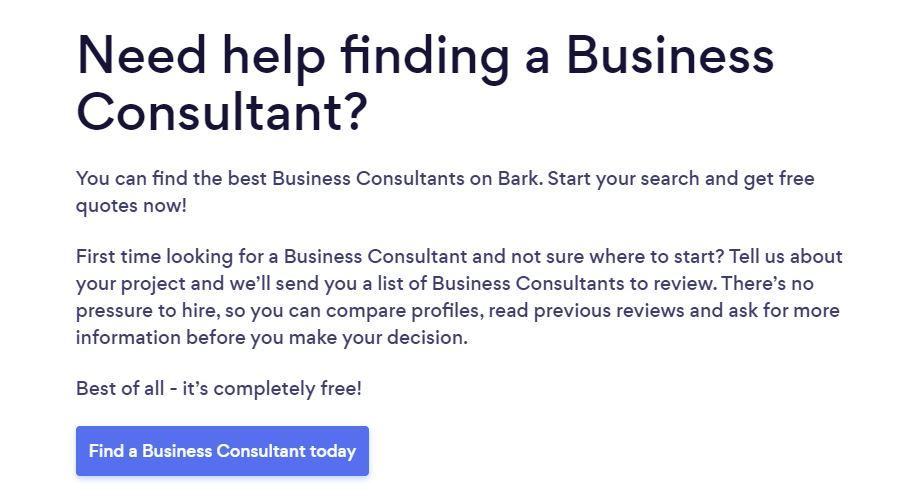 Business Consultant Pros